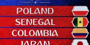Polandia vs Senegal Piala Dunia 2018