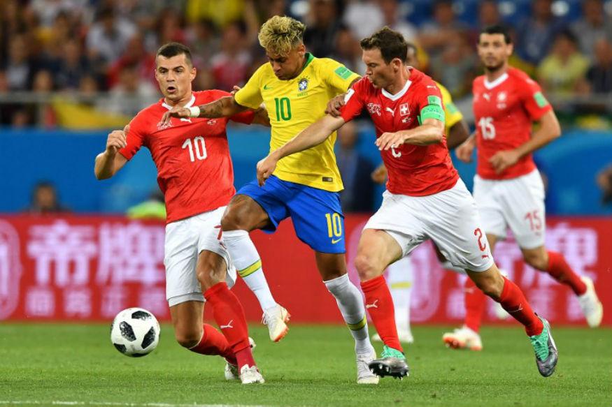 brasil gagal kalahkan Swiss